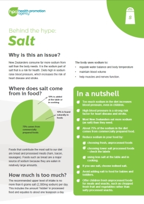 Behind the Hype: Salt