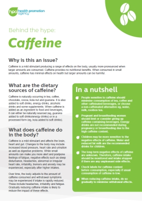Behind the hype: Caffeine