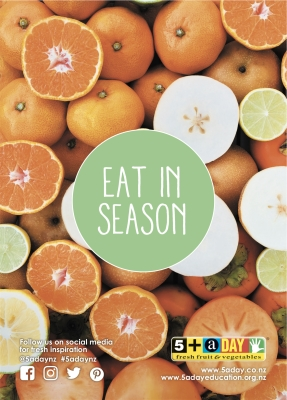 Eat in Season - Mandarin and Nashi
