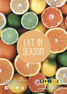 Eat in Season - Citrus