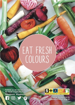 Eat fresh colours