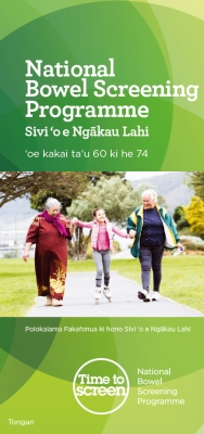 National Bowel Screening Programme - Tongan