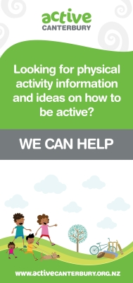 Looking for physical activity information and ideas on how to get active? We can help