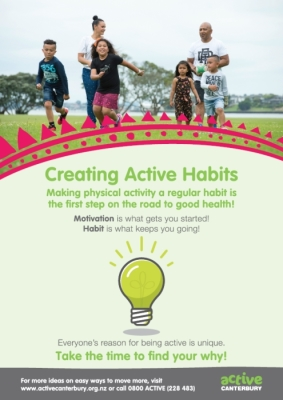 Active Canterbury: Creating active habits