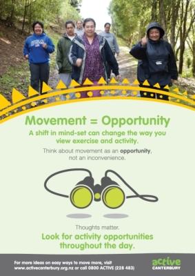 Active Canterbury: Movement = Opportunity