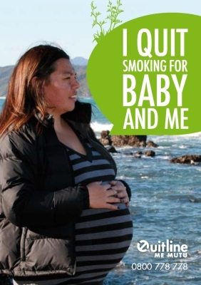 I quit smoking for baby and me
