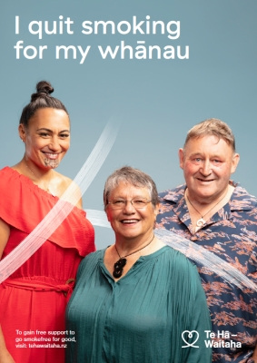 I quit smoking for my whānau