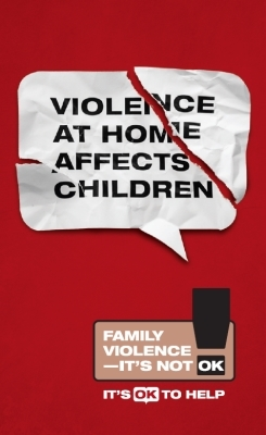 Violence at home affects children