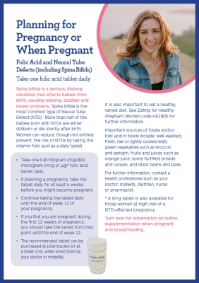 Folic Acid and Iodine